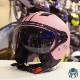 Roze scooterhelm