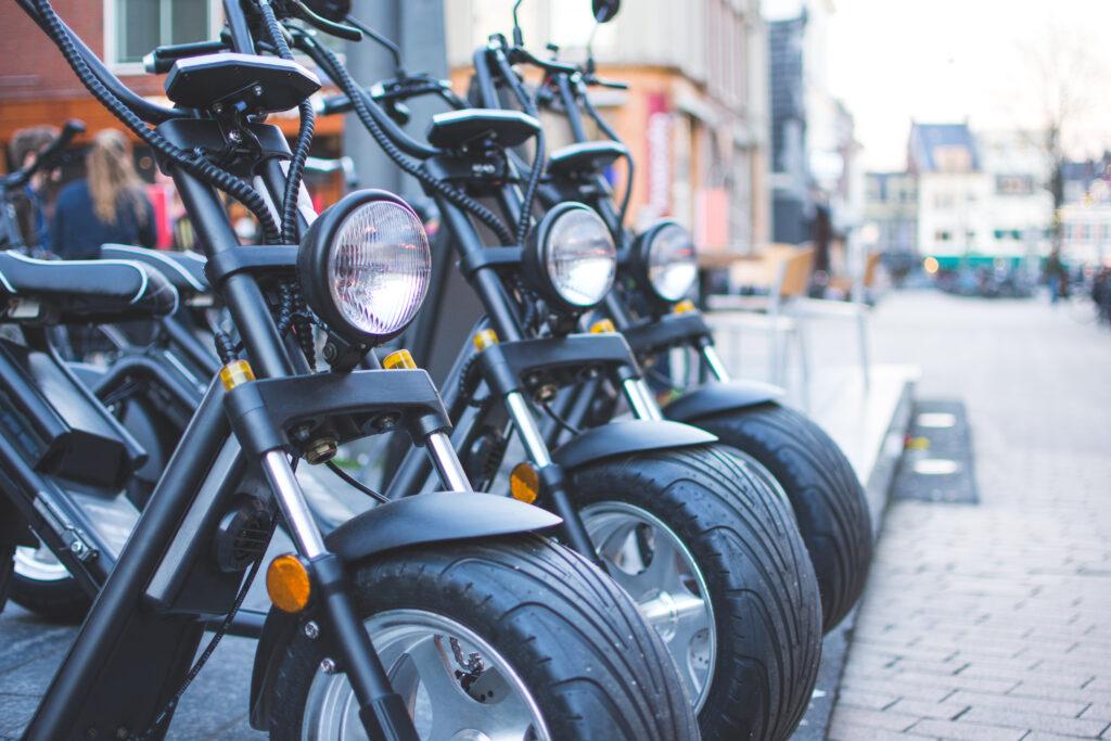 elektrische chopper scooter